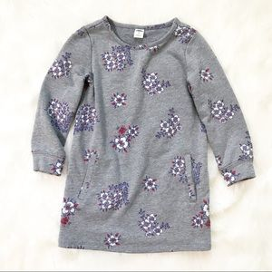 Old Navy Girls Sweatshirt Floral Tunic Top